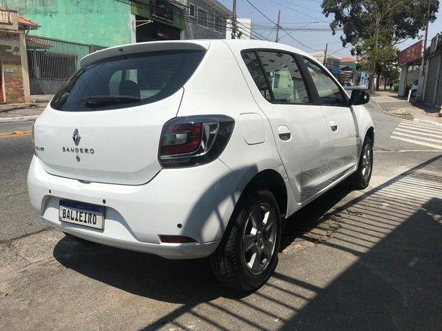 Renault Sandero  Vibe 1.0 12V SCe (Flex) FLEX MANUAL - Foto 8