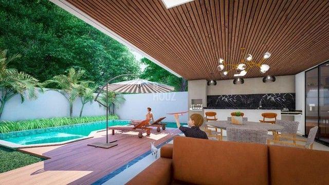 Casa com 4 suítes à venda, 342 m² por R$ 3.650.000 - Jardins Paris - Goiânia/GO - Foto 4