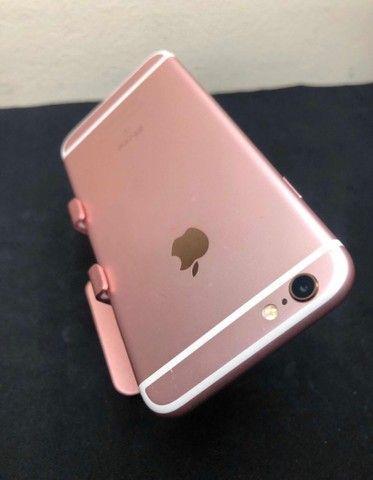 iPhone 6s ouro Rosa 128GB sem marcas de uso - Foto 5