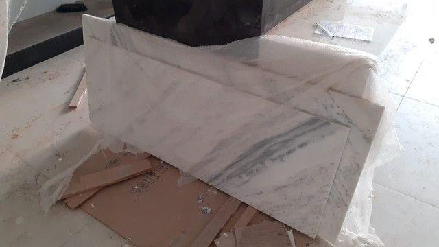 Pedra mármore 1,52x0,62 e 1,40x0,52 - Foto 2