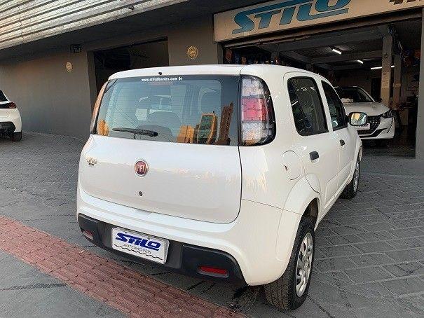 Fiat Uno Attractive 1.0 Flex 2020/2020 Branco Cód. 2055 - Foto 6