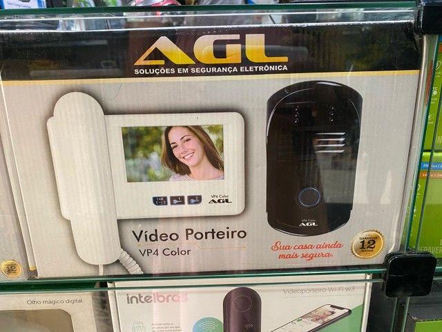 Vídeo Porteiro AGL com Tela de 4 Polegadas VP4 Color