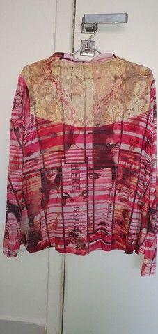 Camisa em malha - Foto 2