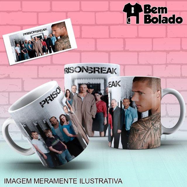 Caneca Prison Break Série Netflix - Foto 6