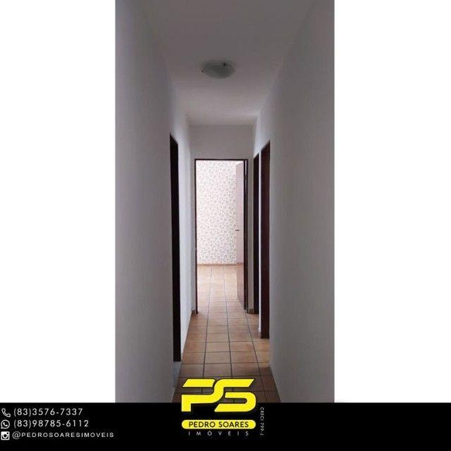 Apartamento com 3 dormitórios à venda, 103 m² por R$ 200.000 - Brisamar - João Pessoa/Para - Foto 11