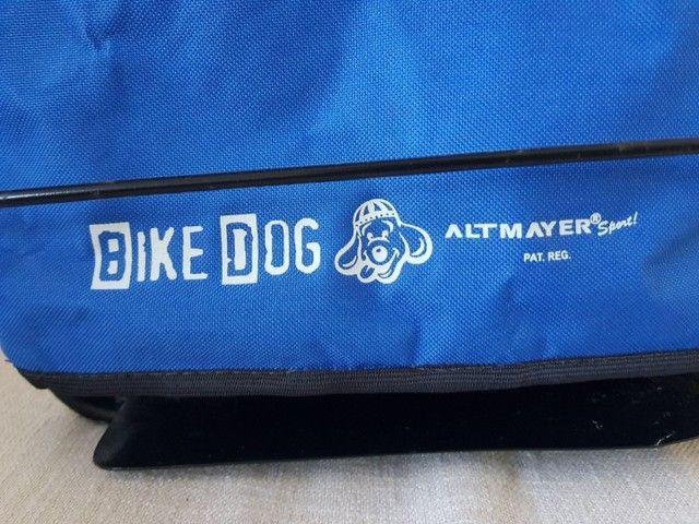 Cadeirinha Para Cães Bike Dog Full Azul Altmayer - Foto 2