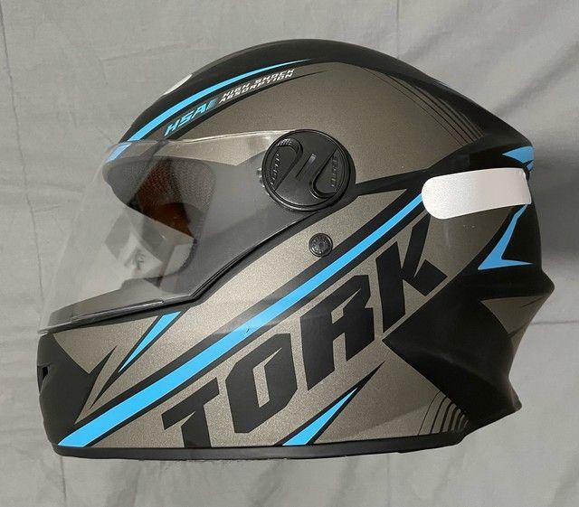 Capacete pro tork R8 zero tamanho 60 - Foto 2