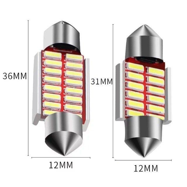 Luz de Teto Torpedo com Resistor Cabuns (1Pç) - Foto 3
