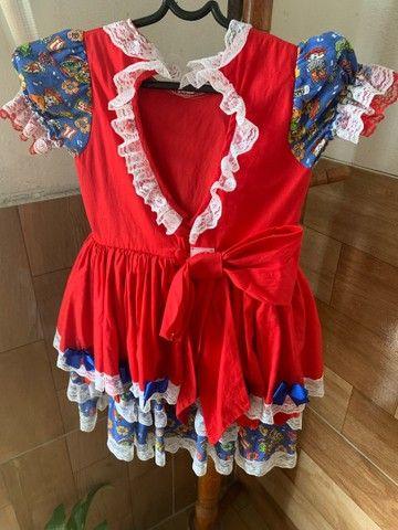 Vestido de São João infantil  - Foto 3