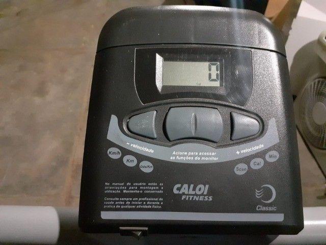 esteira caloi 100kg funcionando perfeitamente - Foto 2