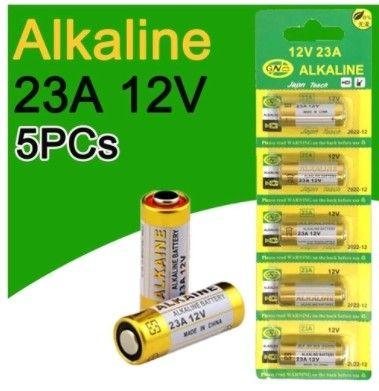 pilha alkaline  23a 12v