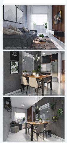 Lançamento aptos de 2 quartos 50m² com sacada e elevador - Foto 9