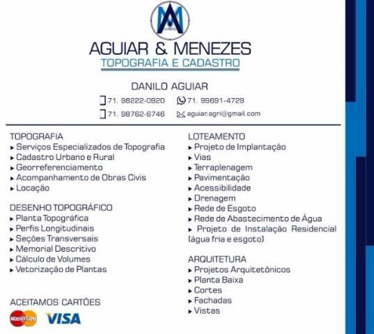 Aguiar & Menezes Topografia e Cadastro