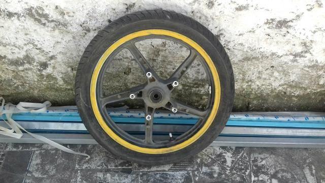 Roda twister dianteira