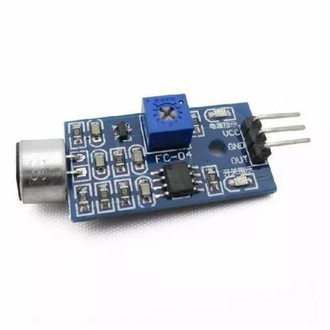 Módulo Detector Sensor De Som Palmas