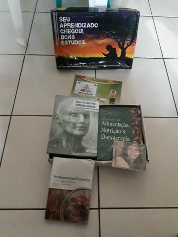 Livros para estudo da faculdade Nutrição