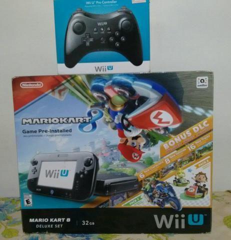Console Nintendo Wii U + Pro Controller e Wii Remotes - Videogames on