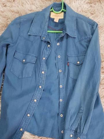 1d04f8d3f Camisa Jeans Levi's Original - Roupas e calçados - Bosque da Saúde ...