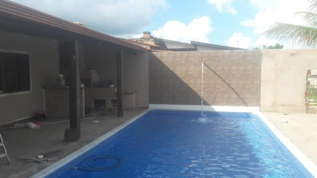 Linda casa , laje piscina churrasqueira | abaixou pra vender !!! - Foto 4