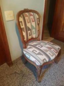 Cadeira estilo Luix XV