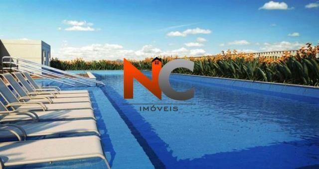 Apartamento com 3 dorms, nobre norte clube residencial - r$ 474 mil. - Foto 3