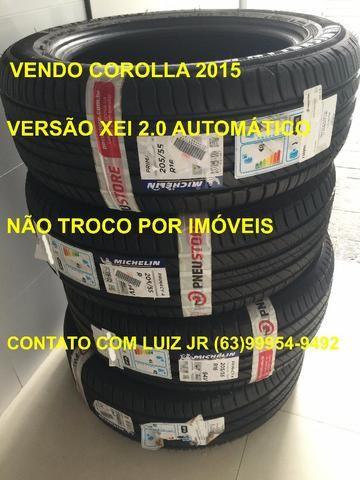 Corolla Xei 2015 - 04 pneus Michelin Zero - Documento pago - Estado de Zero - Foto 2