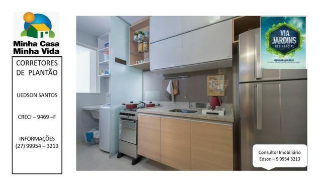 UED-94 - Apartamento 2 quartos com lazer completo em morada de laranjeiras - Foto 8