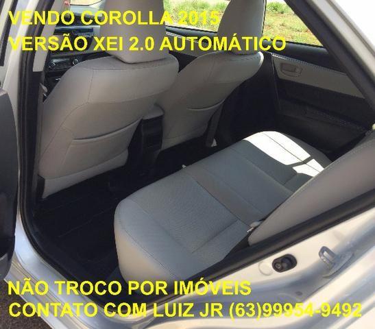 Corolla Xei 2015 - 04 pneus Michelin Zero - Documento pago - Estado de Zero - Foto 9