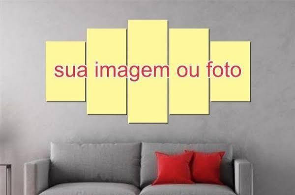Quadro Decorativo Mosaico 5 Peças- Sua Foto