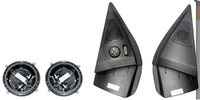Kit Retrovisor Elétrico Sensorizado Fiat Palio/Strada Tragial