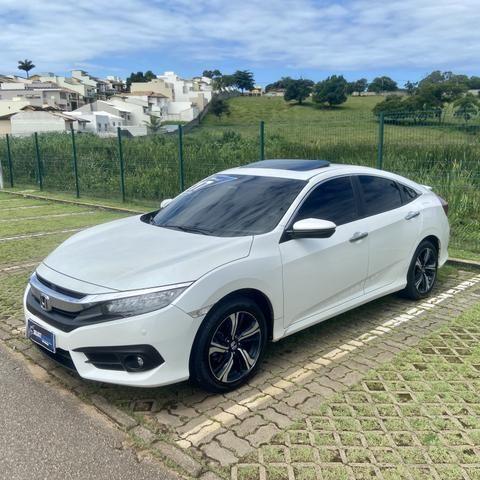 Honda Civic 1.5 Touring Automático Flex - 2017 - Foto 3
