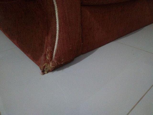 Lindo sofá retrô em Curvelo - Foto 5