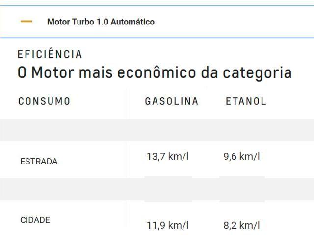 CHEVROLET TRACKER 1.0 TURBO FLEX LT AUTOMÁTICO - Foto 10