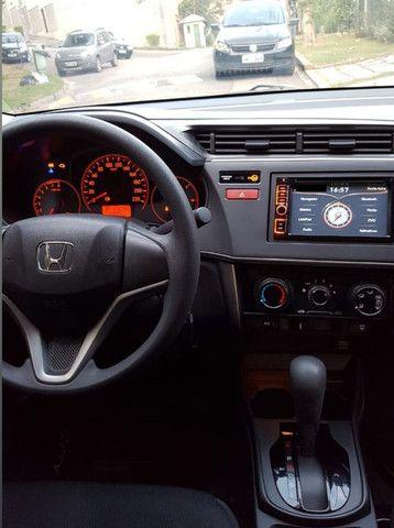 Honda City Sedã LX 1.5 FLEX 16V 4P AUT. + Kit Multimídia + Câmera de ré - Foto 5