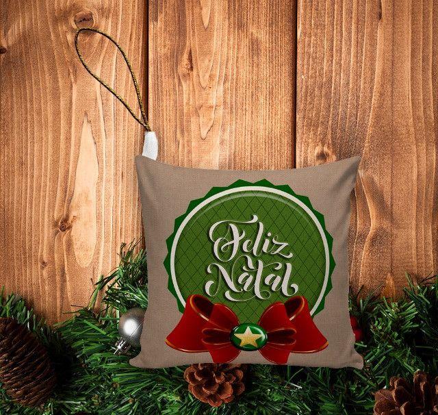Enfeite De Natal (10unid) Pingente Para Árvore/ Lembrancinha - Foto 2
