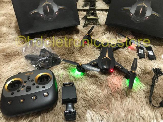 Drone Visuo Gps Wifi 5g Câmera 5mp 1080p C/ 3 Baterias - Foto 3