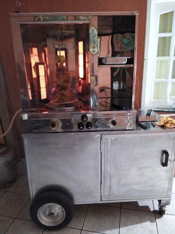 Máquina de churrasco grego R$ 1.500,00 - Foto 4