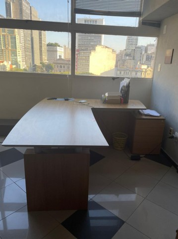 Mesa escritorio - OPORTUNIDADE + cadeira de brinde - Foto 2