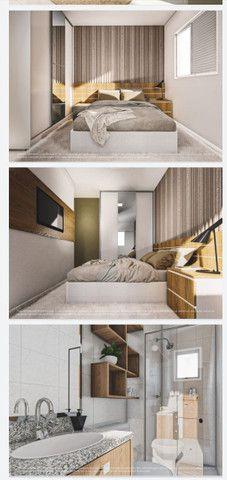 Lançamento aptos de 2 quartos 50m² com sacada e elevador - Foto 7