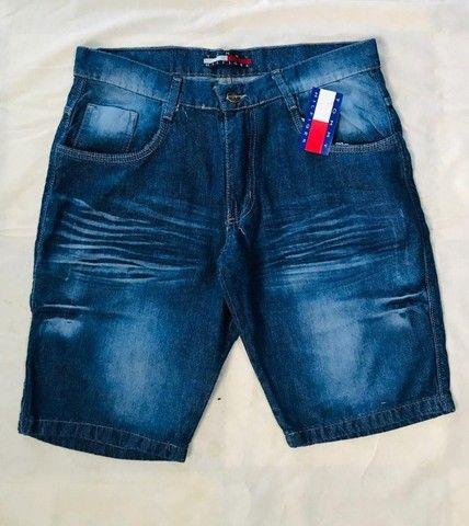 bermuda jeans em atacado  - Foto 2
