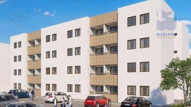 Apartamento com 2 dormitórios à venda, 53 m² por R$ 180.000,00 - Bancários - João Pessoa/P