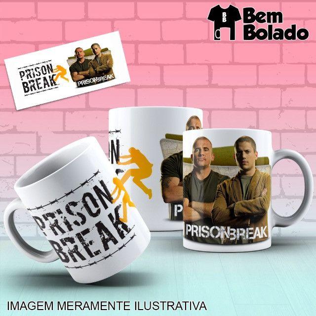Caneca Prison Break Série Netflix - Foto 5