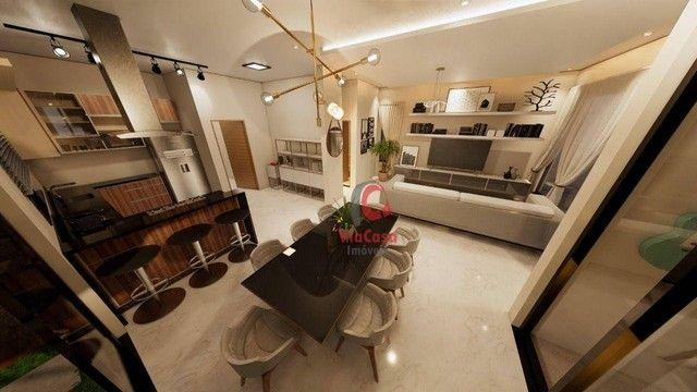 Casa com 3 dormitórios à venda, 254 m² por R$ 980.000,00 - Vale dos Cristais - Macaé/RJ - Foto 12