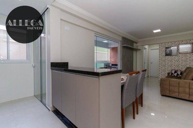 Apartamento com 2 dormitórios à venda, 59 m² por R$ 364.000,00 - Fanny - Curitiba/PR - Foto 3