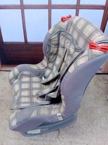 Cadeira para Automóvel Tutti Baby Atlantis  - 9 a 25 Kg - Xadrez Cinza - Foto 4
