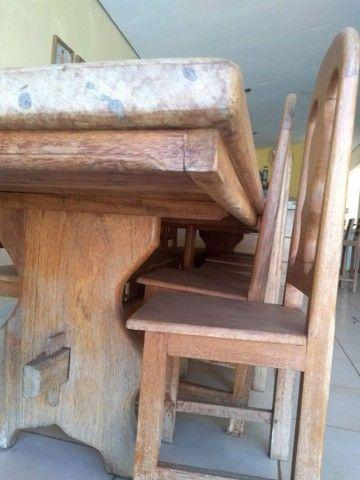 Mesa de 4x1m com 15 cadeiras  - Foto 3