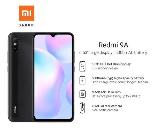 REDMI 9 A 32 GB 2 GB RAM- PRODUTO NOVO - Foto 2