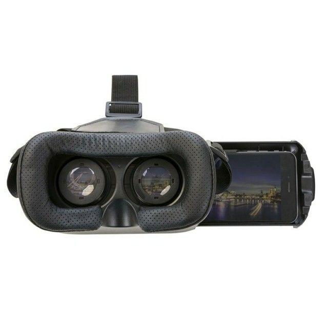 Óculos 360º Realidade Virtual Jogos E Videos Filmes Celular 3D Cardboard - Foto 2