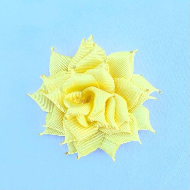 Rosas de cabelo, laços, tiara, infantil - Foto 5