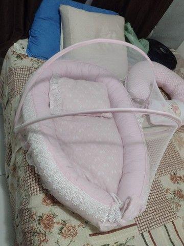 Vende se ninho de bebê com mosquiteiro - Foto 2